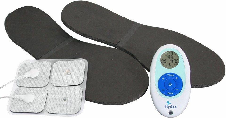 Hydas® Reizstromgerät 4509.1.00, mit Fußsohlen-Pads in weiß/blau