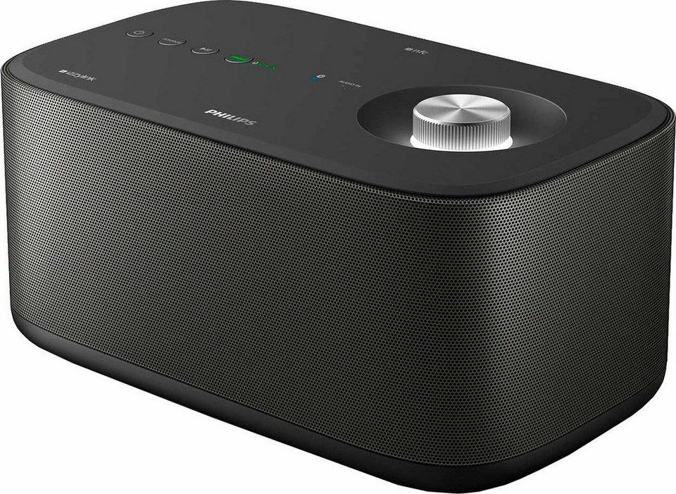Philips izzy BM7 Multiroom-Lautsprecher (Bluetooth, NFC, WiFi) in schwarz