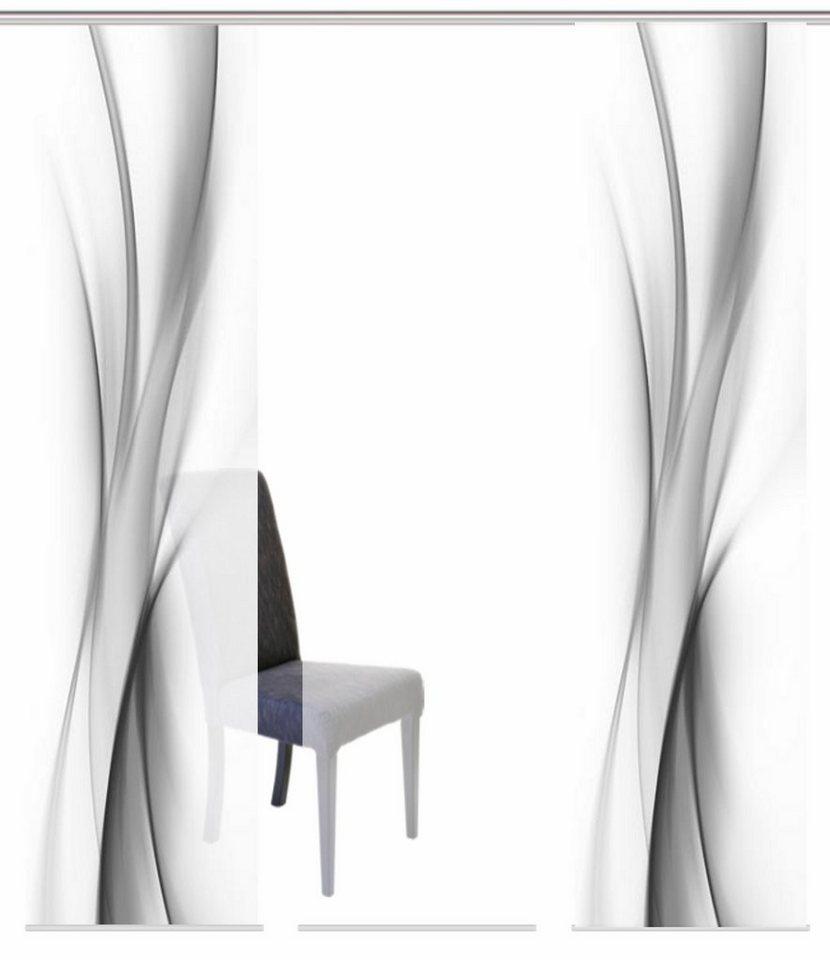 schiebegardinen blickdicht kaufen schiebevorh nge otto. Black Bedroom Furniture Sets. Home Design Ideas