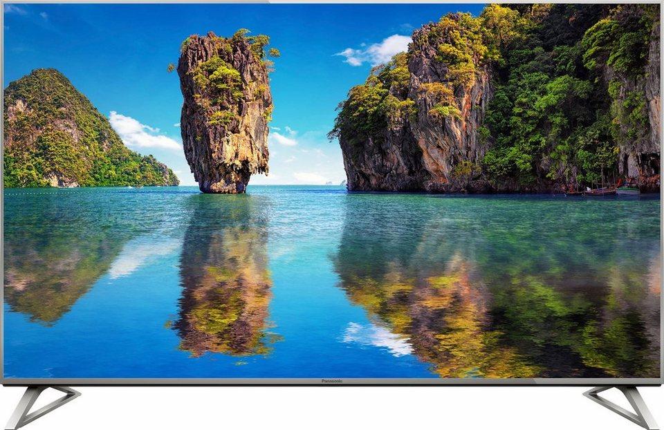 Panasonic TX-50DXW734, LED Fernseher, 126 cm (50 Zoll), 2160p (4K Ultra HD), Smart-TV in silberfarben