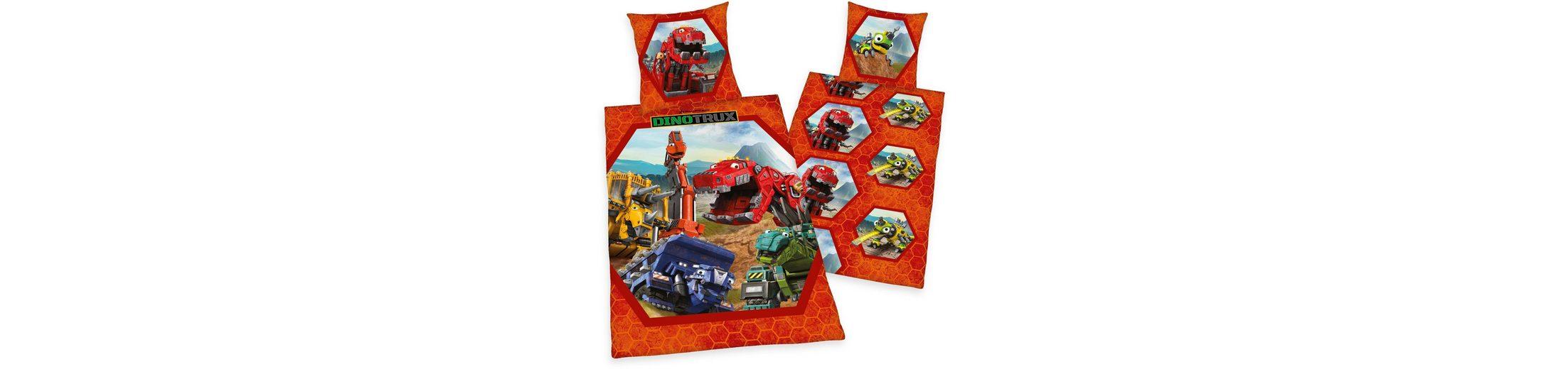 Kinderbettwäsche, DreamWorks, »Dinotrux«, mit Motiven