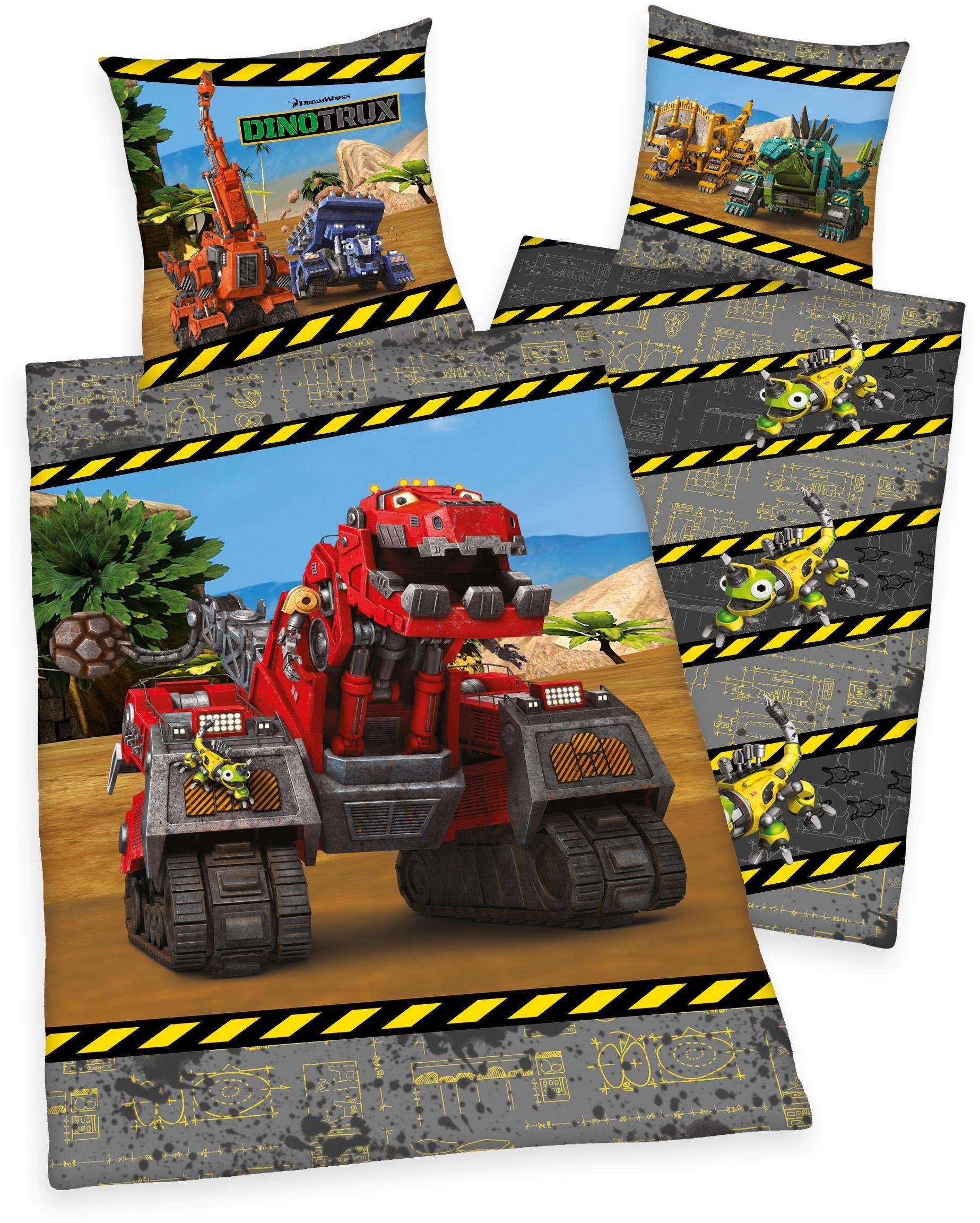 Kinderbettwäsche, DreamWorks, »Dinotrux Portrait«