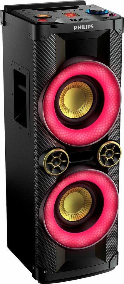 philips ntx400 12 party lautsprecher cd player w. Black Bedroom Furniture Sets. Home Design Ideas