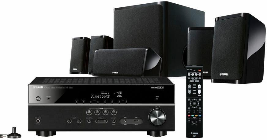 Yamaha YHT-4930 EU 5.1 Heimkinosystem (Hi-Res, Multiroom, WLAN, Bluetooth, Spotify)