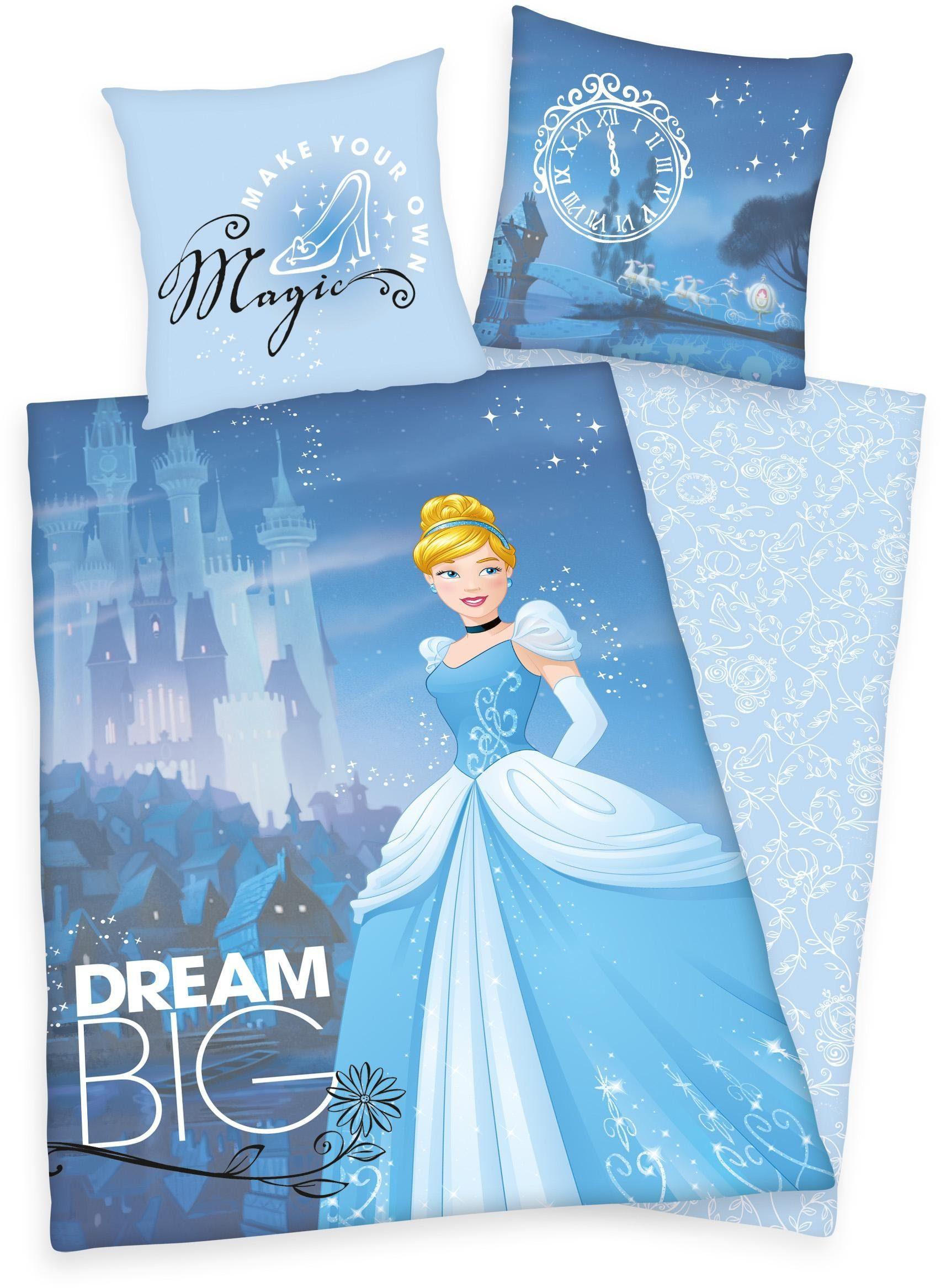 Kinderbettwäsche, Disney, »Big Dream Princess«