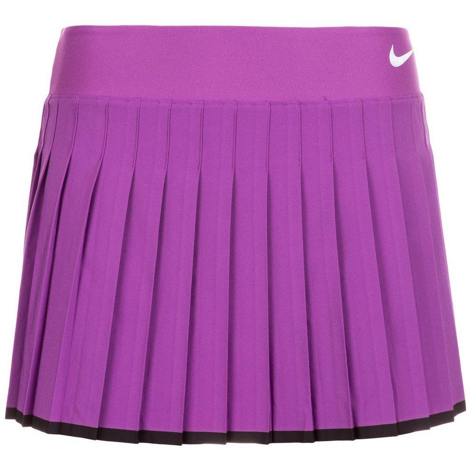 NIKE Victory Tennisrock Damen in violett