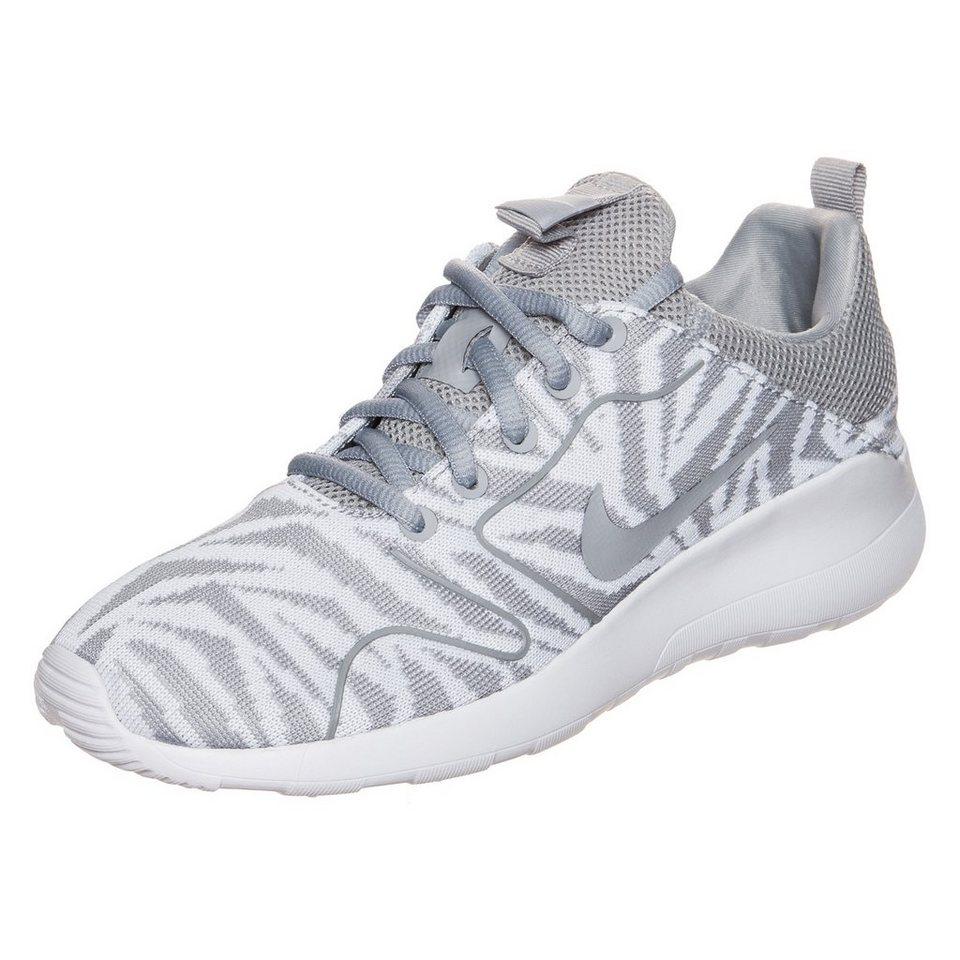 Nike Sportswear Kaishi 2.0 Jacquard Print Sneaker Damen in weiß / grau