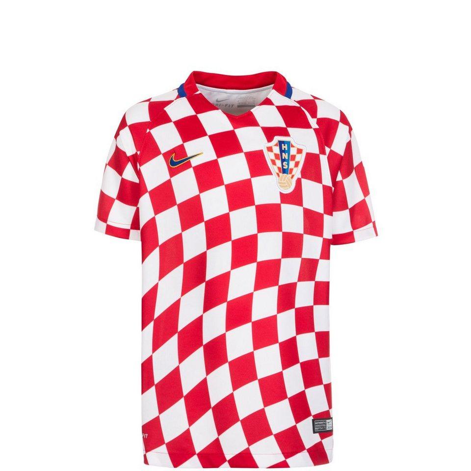 NIKE Kroatien Stadium Trikot Home EM 2016 Kinder in rot / weiß