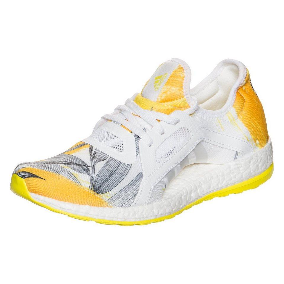 adidas Performance Pureboost X Laufschuh Damen in weiß / gelb