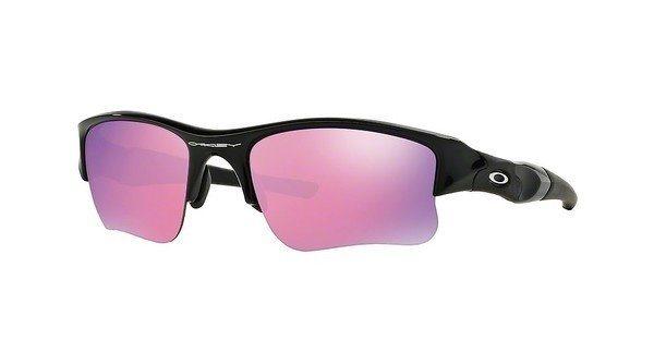 Oakley Herren Sonnenbrille »FLAK JACKET XLJ OO9009« in 24-428 - schwarz/rosa