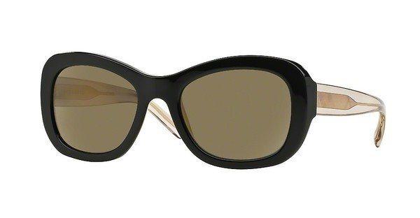 Burberry Damen Sonnenbrille » BE4189« in 35074T - schwarz/gold