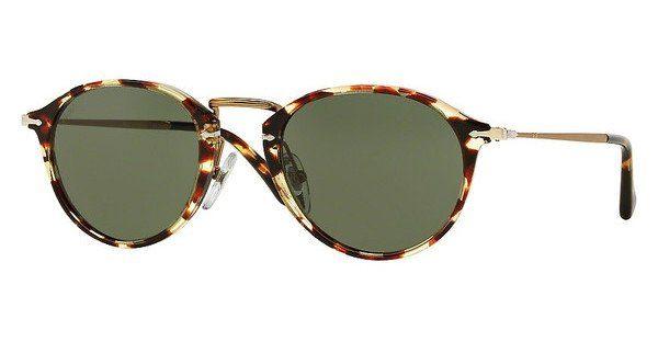 PERSOL Persol Herren Sonnenbrille » PO3046S«, braun, 985/31 - braun/grün