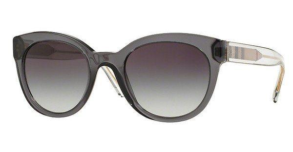 Burberry Damen Sonnenbrille » BE4210« in 35448G - grau/grau