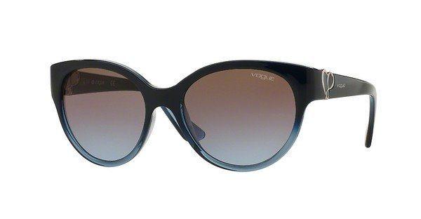 Vogue Damen Sonnenbrille » VO5035S« in 237948 - blau/braun