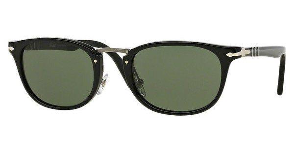 Persol Herren Sonnenbrille » PO3127S« in 95/31 - schwarz/grün