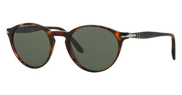 Persol Herren Sonnenbrille » PO3092SM« in 901531 - braun/grün