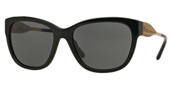 Burberry Damen Sonnenbrille » BE4203« in 300187 - schwarz/grau