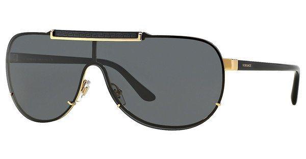 Versace Herren Sonnenbrille » VE2140« in 100287 - gold/grau