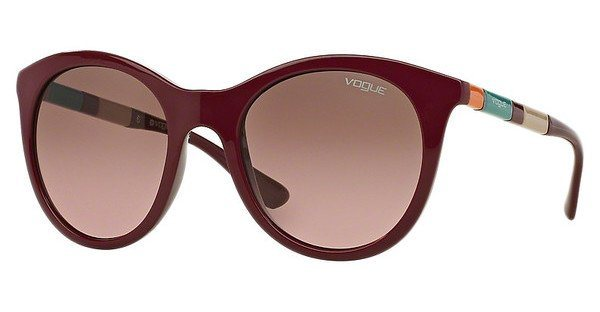 Vogue Damen Sonnenbrille » VO2971S« in 232414 - rot/ braun
