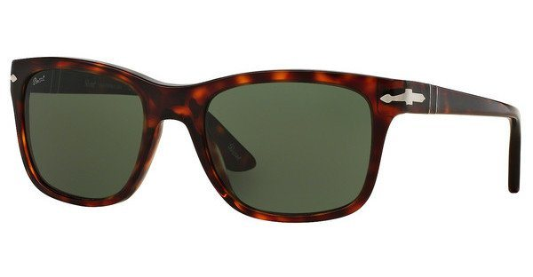 Persol Herren Sonnenbrille » PO3135S« in 24/31 - braun/grün