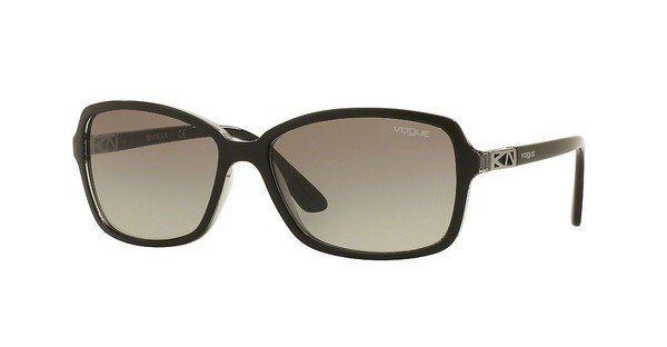 Vogue Damen Sonnenbrille » VO5031S« in 238511 - schwarz/grau