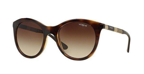 Vogue Damen Sonnenbrille » VO2971S« in W65613 - braun/braun