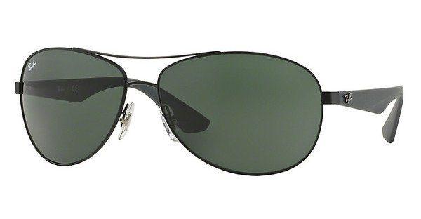 RAY-BAN Herren Sonnenbrille » RB3526« in 006/71 - schwarz/grün