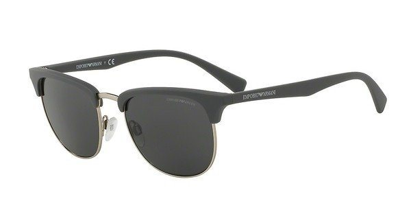 Emporio Armani Herren Sonnenbrille » EA4072« in 550287 - grau/grau