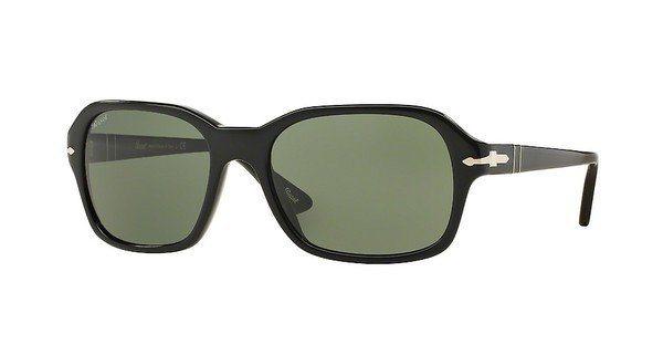 Persol Sonnenbrille » PO3136S« in 95/31 - schwarz/grün