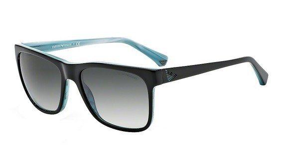 Emporio Armani Herren Sonnenbrille » EA4002« in 50528G - schwarz/grau