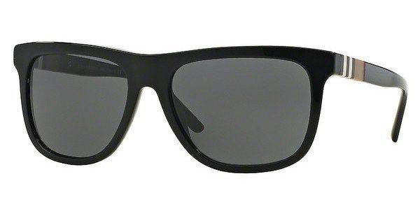 Burberry Herren Sonnenbrille » BE4201« in 300187 - schwarz/grau