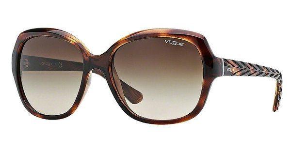 Vogue Damen Sonnenbrille » VO2871S« in 150813 - braun/braun