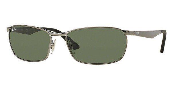 RAY-BAN Herren Sonnenbrille » RB3534« in 004 - grau/grün