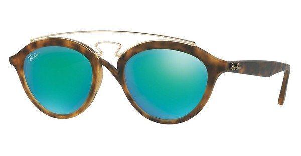 RAY-BAN Damen Sonnenbrille » RB4257« in 60923R - braun/grün