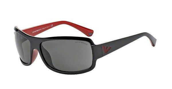 Emporio Armani Herren Sonnenbrille » EA4012« in 506187 - schwarz/grau