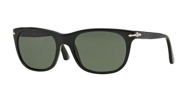 Persol Herren Sonnenbrille » PO3102S« in 95/31 - schwarz/grün