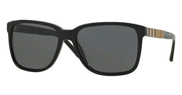 Burberry Herren Sonnenbrille » BE4181« in 300187 - schwarz/grau