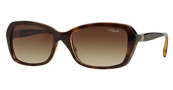Vogue Damen Sonnenbrille » VO2964SB« in W65613 - braun/braun