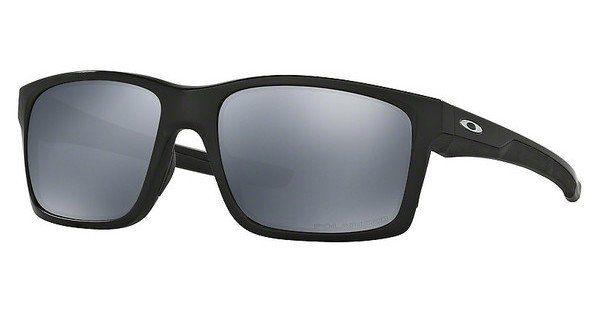 Oakley Herren Sonnenbrille »MAINLINK OO9264«, schwarz, 926429 - schwarz/braun