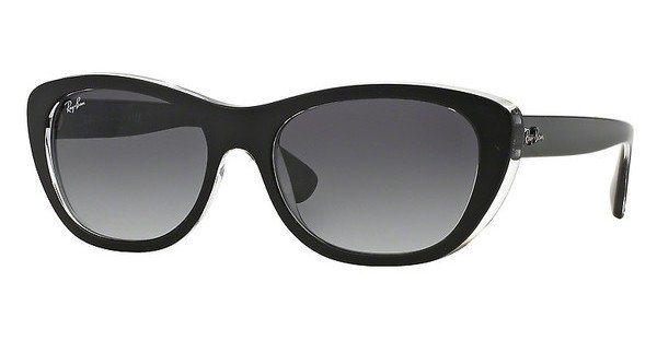 RAY-BAN Damen Sonnenbrille » RB4227« in 60528G - schwarz/grau