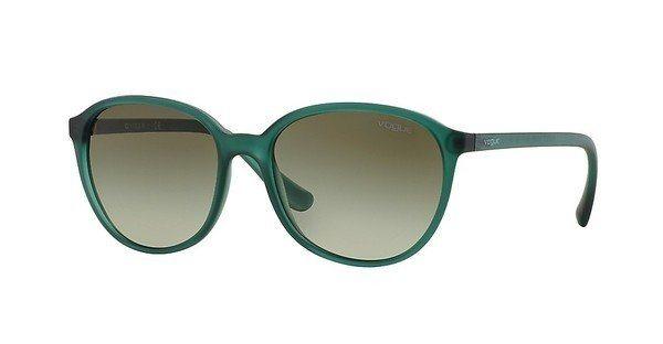 Vogue Damen Sonnenbrille » VO2939S« in 22668E - blau/grün