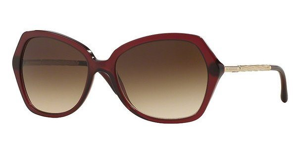 Burberry Damen Sonnenbrille » BE4193« in 301413 - rot/braun