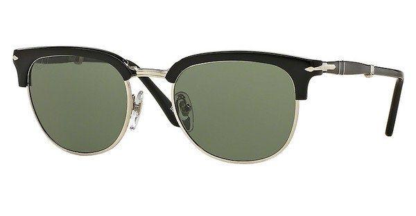 Persol Herren Sonnenbrille » PO3132S« in 95/31 - schwarz/grün