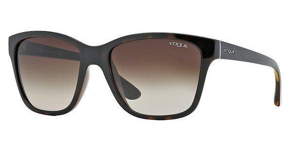Vogue Damen Sonnenbrille » VO2896S« in W65613 - braun/braun