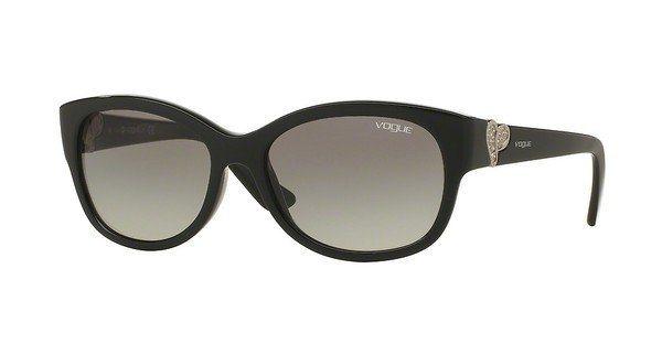Vogue Damen Sonnenbrille » VO5034SB« in W44/11 - schwarz/grau