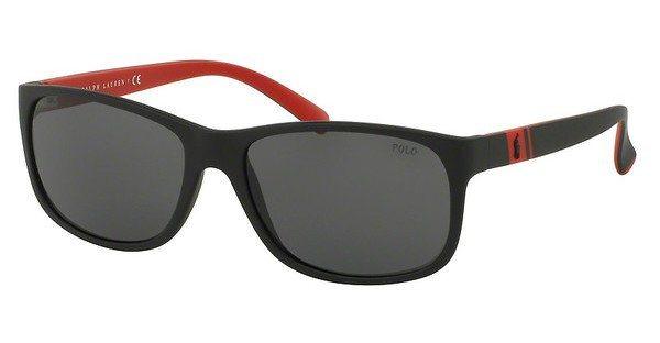 Polo Herren Sonnenbrille » PH4109« in 524787 - schwarz/grau