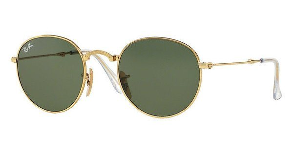 RAY-BAN Sonnenbrille » RB3532« in 001 - gold/grün
