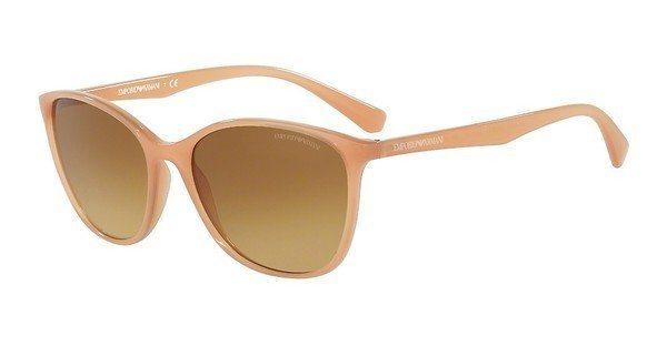 Emporio Armani Damen Sonnenbrille » EA4073« in 55062L - orange/gelb