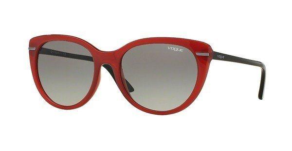 Vogue Damen Sonnenbrille » VO2941S« in 239111 - rot/grau