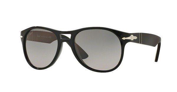 Persol Herren Sonnenbrille » PO3155S« in 104171 - schwarz/grau
